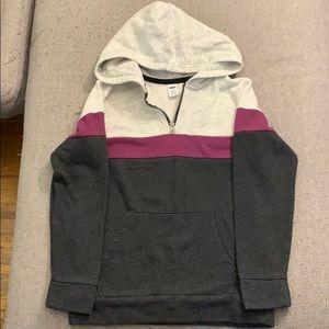 3/25$ * Boys half zip hoodie